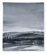 Land Shapes 11 Fleece Blanket