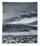 Land Shapes 12 Fleece Blanket