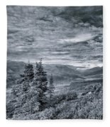 Land Shapes 18 Fleece Blanket