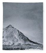 Land Shapes 9 Fleece Blanket by Priska Wettstein