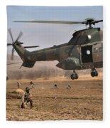 Landing Zone Fleece Blanket