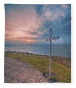 Lands End Cornwall Fleece Blanket