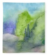 Landscape 3 Fleece Blanket