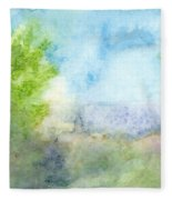 Landscape 4 Fleece Blanket