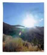 Landscape Arch 1 Fleece Blanket