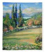 Landscape From Kavran Fleece Blanket