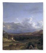 Landscape In Dauphine Fleece Blanket