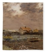 Landscape Fleece Blanket