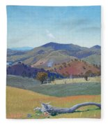Landscape Near Yass Fleece Blanket