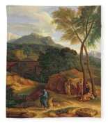 Landscape With Conopion Carrying Fleece Blanket
