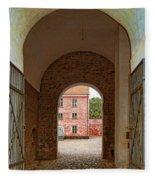 Landskrona Citadel Entrance Fleece Blanket