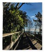 Langmoor-lister Bridge Fleece Blanket