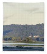 Lansing Iowa Fleece Blanket