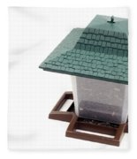 Lantern Bird Feeder Fleece Blanket