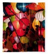 Lantern Stall 03 Fleece Blanket