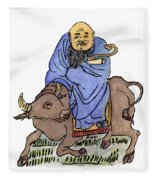 Lao-tzu (c604-531 B Fleece Blanket