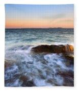 Larrabee Sunset Fleece Blanket