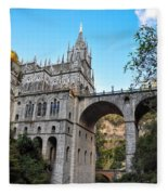 Las Lajas Sanctuary Fleece Blanket