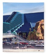 Las Vegas 10 Fleece Blanket