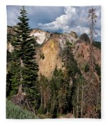 Lassen Volcanic Fleece Blanket