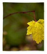 Last Leaf Fleece Blanket