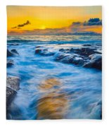 Last Rays Fleece Blanket