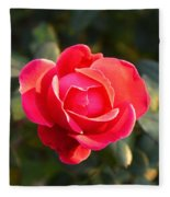 Last Rose Of Summer Fleece Blanket