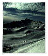Late Afternoon In The Mountains  Fleece Blanket