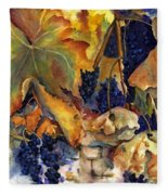 The Magic Of Autumn Fleece Blanket