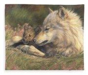 Late Spring Fleece Blanket