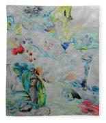 Latoya Tutti Frutti Fleece Blanket