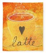 Latte Fleece Blanket