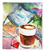 Latte Macchiato In Italy 01 Fleece Blanket