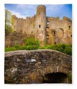 Laugharne Castle Fleece Blanket