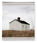 Laundress House At American Camp Fleece Blanket