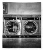 Laundromat Art Fleece Blanket