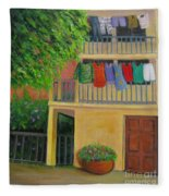 Laundry Day Fleece Blanket