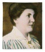 Laura Ingalls Wilder (1867-1957) Fleece Blanket
