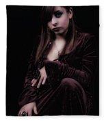 Laura Witch Fleece Blanket