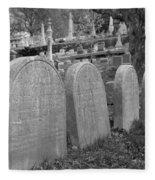 Laurel Hill Headstones Fleece Blanket