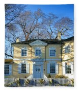Laurel Hill Mansion Fleece Blanket