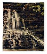 Laurel Run Falls Fleece Blanket