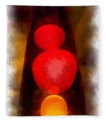 Lava Lamp Photo Art 04 Fleece Blanket