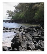 Lava Rocks Fleece Blanket