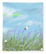 Lavander Fleece Blanket
