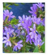 Lavendar Melody Fleece Blanket