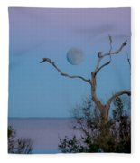 Lavendar Moon Fleece Blanket