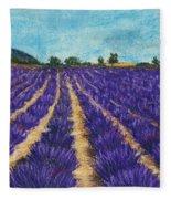 Lavender Afternoon Fleece Blanket