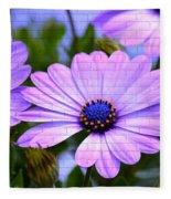 Lavender Beauties Fleece Blanket