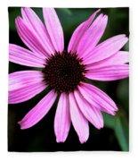 Lavender Daisy Fleece Blanket